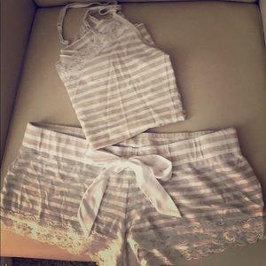 Express Pajama Set cami and shorts